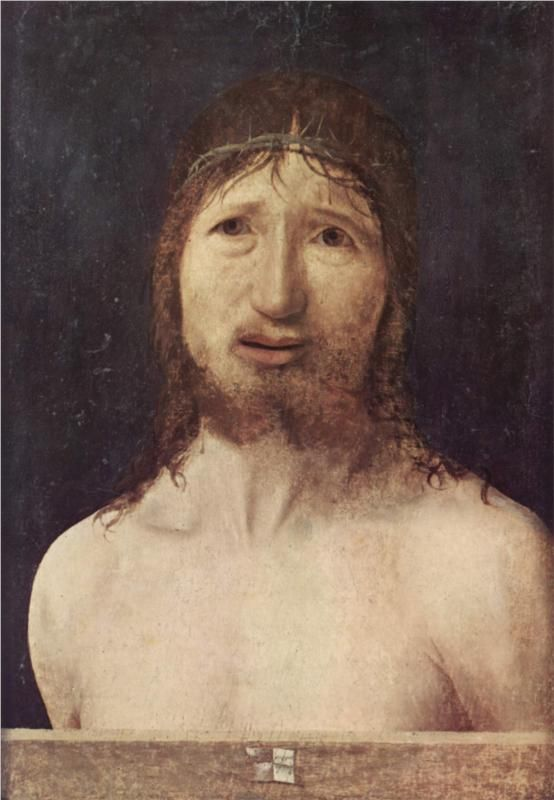 Ecce Homo, 1470			-Antonello da Messina