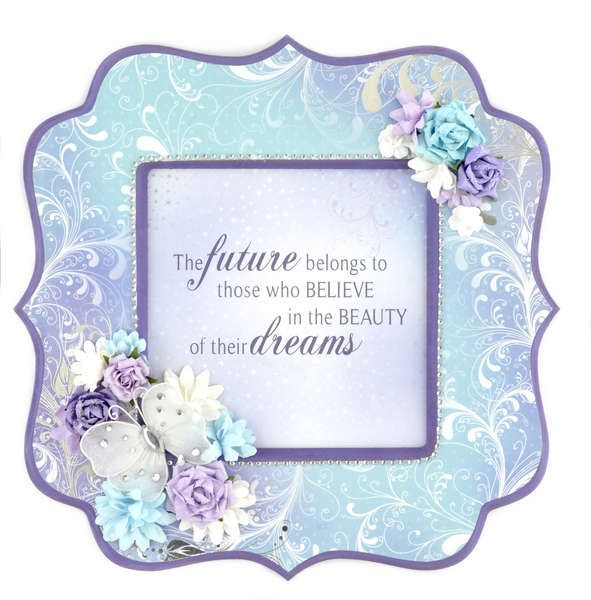 Searchwords: Kaisercraft Magic Happens frame Beyond the Page This is the one this is my inspiration for the frame i have been going to make