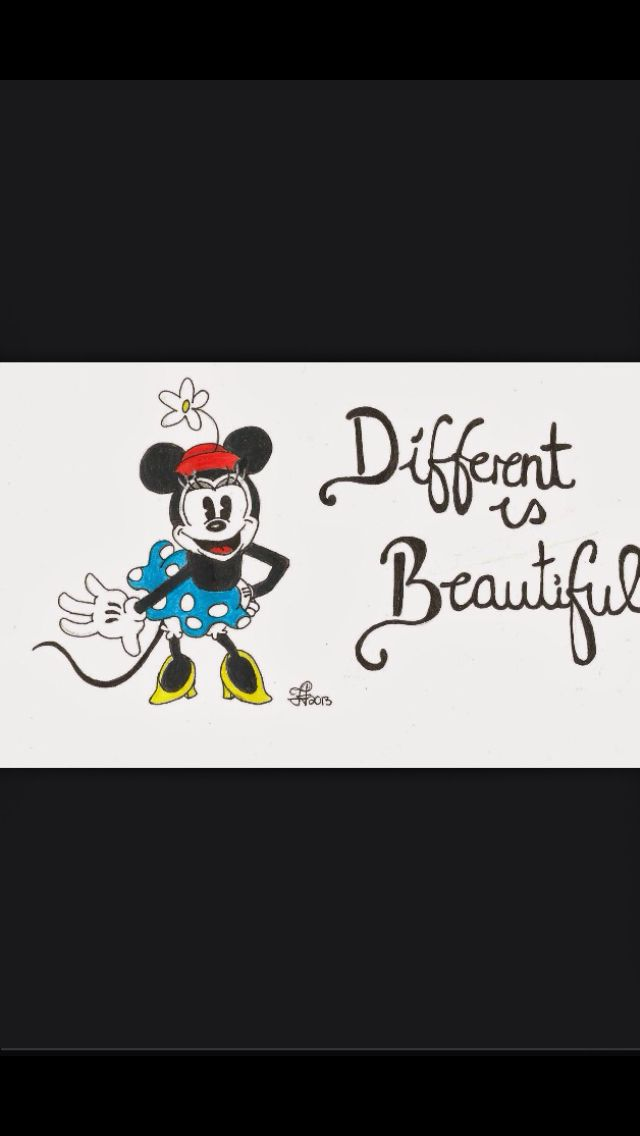 Minnie Mouse says it best!