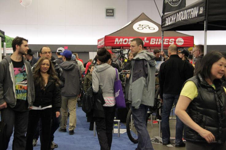 so many #bikes to choose from @Vancouver Bike Show