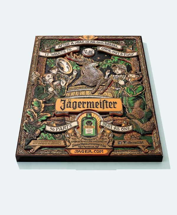 Cheers, 2, Deutsch, New York , Jagermeister, Print, Outdoor, Ads