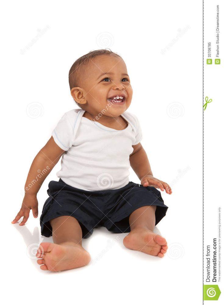 Bébé afro américain