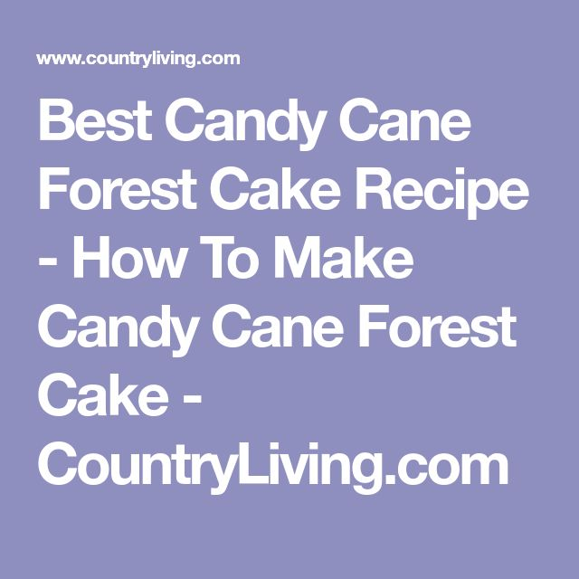 how to make forest cake