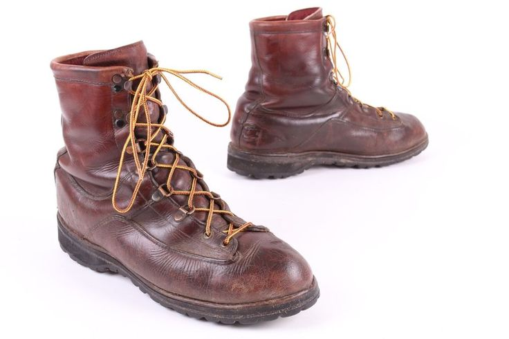 DANNER LEATHER QUARY INSULATED WORK BOOTS USA MENS SIZE 12 D #Danner #WorkSafety