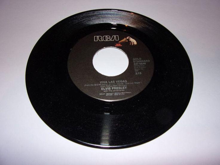 "45"" Elvis Presley: Viva Las Vegas / What'd I Say / Oldies / Near Mint #RocknRollRootsRock"