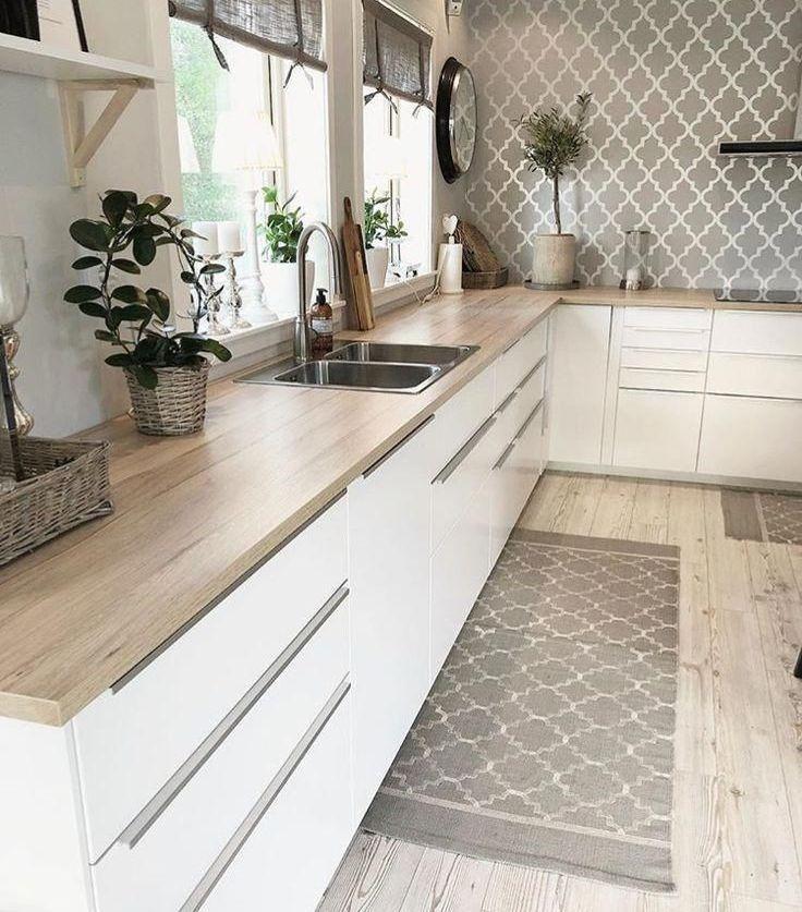 Inspirational fabulous farmhouse kitchen design and decorating ideas 18