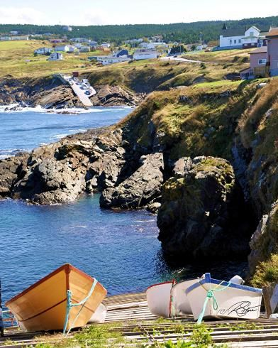 Pouch Cove, Newfoundland - Down the Launch Photography by Stone Island Photography
