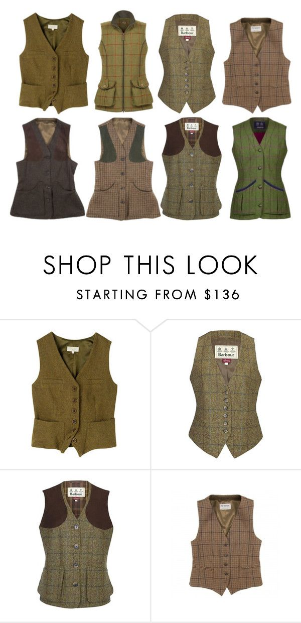 """""""Vests 10: tweed waistcoat"""" by lorika-borika on Polyvore featuring мода, Toast, Barbour, women's clothing, women, female, woman, misses и juniors"""