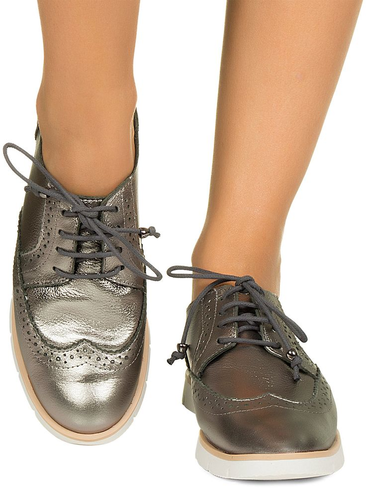 Tênis oxford grafite Taquilla - Taquilla - Loja online de sapatos femininos