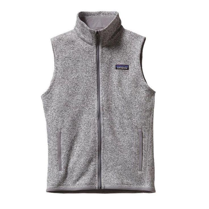 Patagonia Women\'s Better Sweater\u00AE Fleece Vest - Birch White BCW