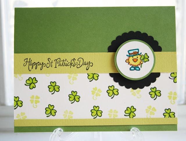 DeNami St. Patrick's Day Irish Chickie card by @Wendy Elliot