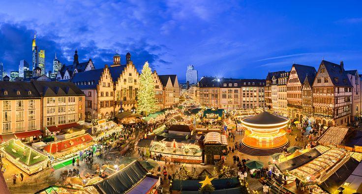 O de Frankfurt, na Alemanha, é um dos mais pitorescos e famosos do mundo mas há outros, menos conhecidos e mediáticos, que também se têm vindo a impor.