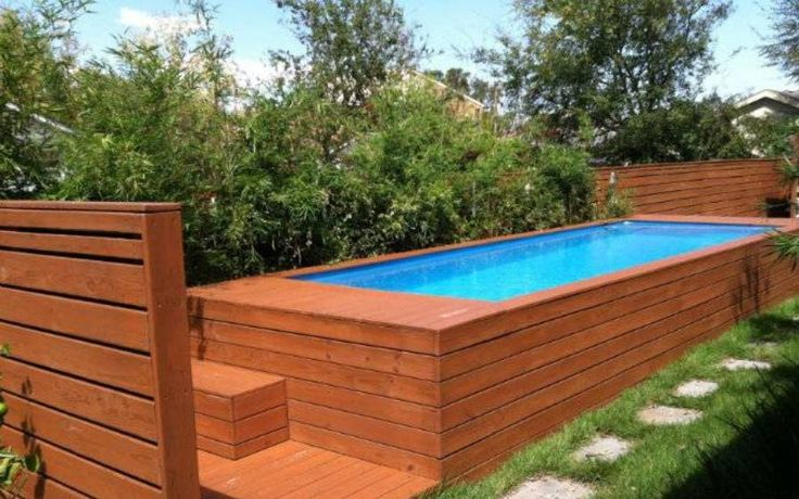 1000 Ideas About Rectangle Above Ground Pool On Pinterest Pool Decks Above Ground Pool And