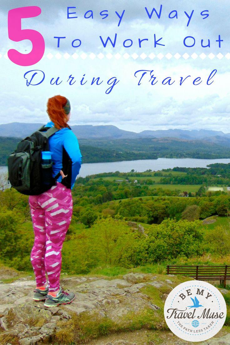 5 easy ways to work out while traveling. #Sanya #Whererefreshingbegins
