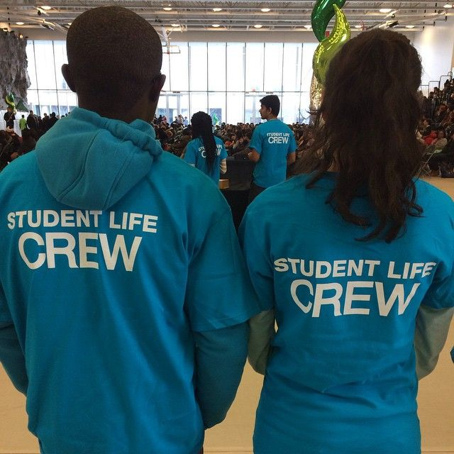 The #CentenniaCollege Student Life Crew is here for you! #CentennialWelcomes #Orientation #winter2015