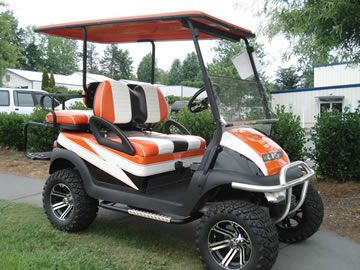 Our team of designers can put together the golf cart you have always wanted. We can take care of that process from beginning to end, giving you exactly what you want. We will even deliver your finished cart directly to you. There are also plenty of new and used golf carts for sale for customers not looking for any kind of customization  http://carolinagolfcars.com/cart-sales/