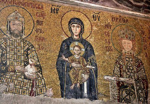 Istanbul: Hagia Sophia (Comnenus mosaics)