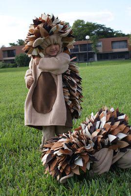 Ein Igel Kostüm- sehr schöne Idee