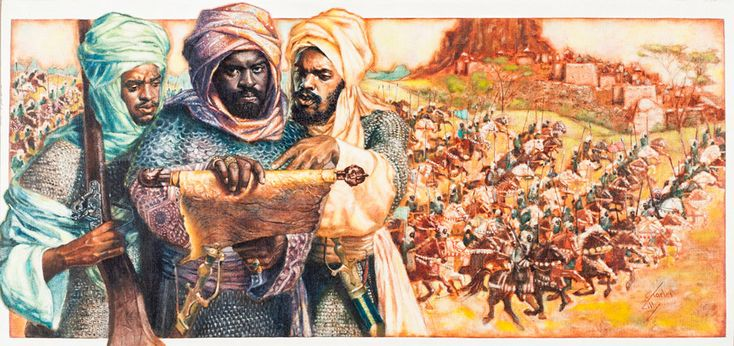 Idris Alooma Sultan of Bornu (1580-1617) Idris Alooma was a devout Moslem. He replaced tribal law with Moslem law, and made a pilgrimage to Mecca. The trip provided religious and military significance, for he returned with Turkish firearms. After building a strong army Idris Alooma conquered the Bulala, establishing a dominion and peace that lasted fifty years.