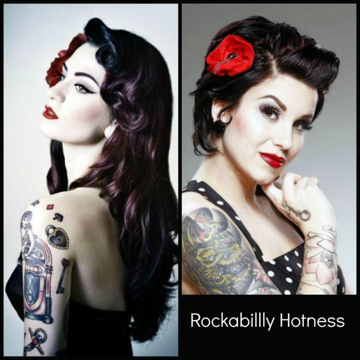rockabilly hairstyles for short hair : hair style Rockabilly hair Pinup hair Psychobilly hair Rockabilly ...