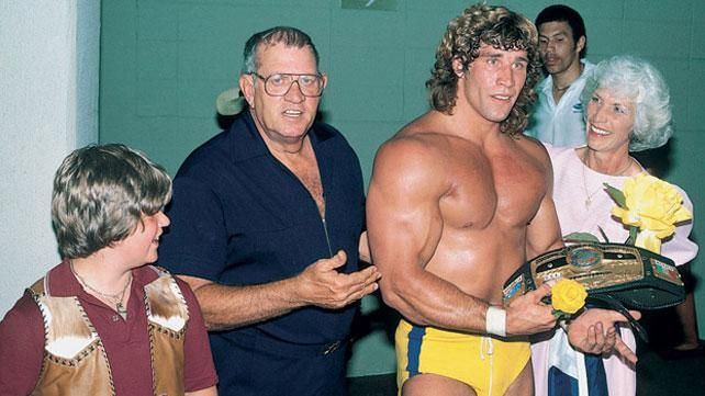 Judy & Jack Adkisson (Fritz Von Erich) with two of their ...