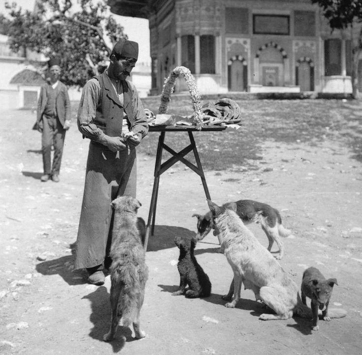 III. Ahmet Çeşmesi-Sultanahmet 1910'lu yıllar