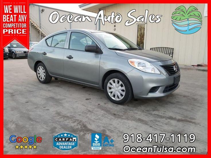 2013 Nissan Versa *1 Owner, Clean Carfax* ** Gray ** Sedan