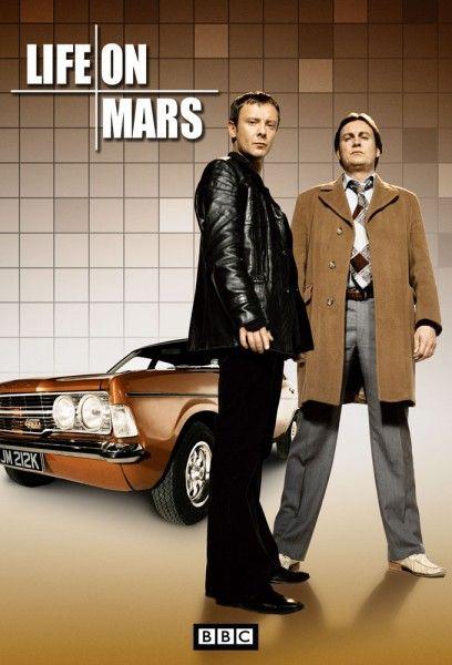 Sam Tyler (John Simm) and Gene Hunt (Philip Glenister), Life On Mars, 2006-7.