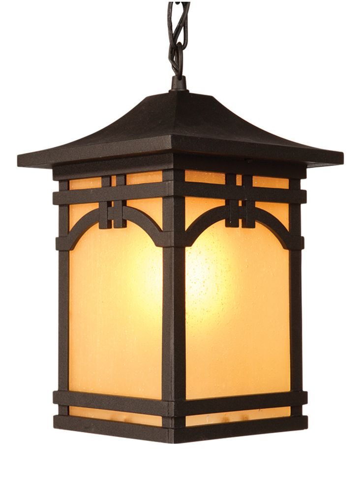 Courtyard Collection 1 Light Outdoor by Artcraft Lighting shown in Oil Rubbed Bronze - AC8065OB