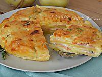 Rosti di patate con prosciutto e formaggio ricetta facile, economici, facili, veloci, buoni, amati da grandi e piccini, ricetta facile con le patate