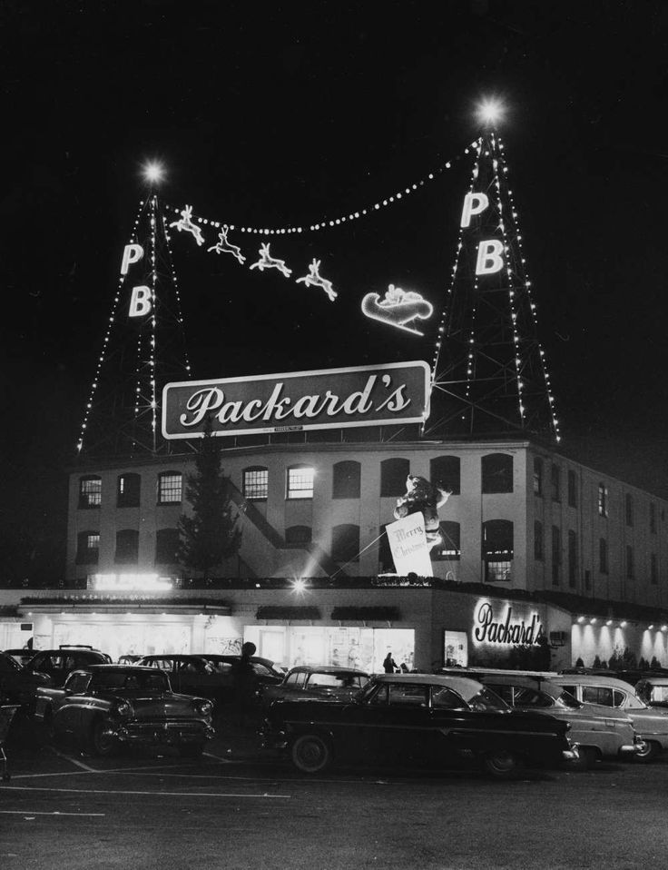 Packards In Hackensack Was Originally Packard Bamberger