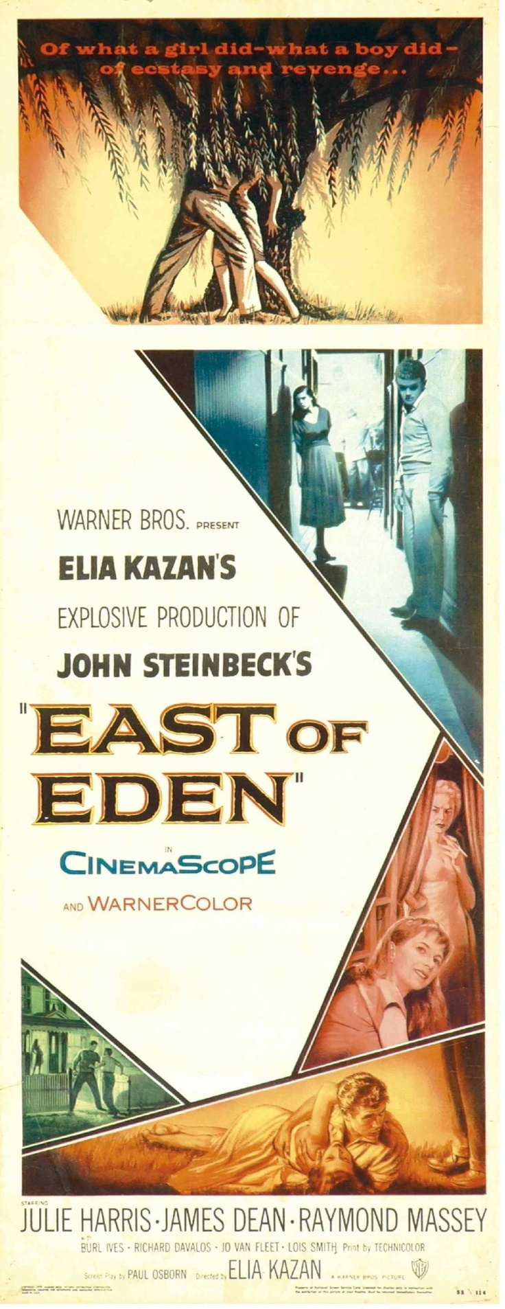 anger and revenge in east of eden by steinbeck I need three quotes from east of eden: and with anger some kind of crime in revenge for the rejection steinbeck, john east of eden.