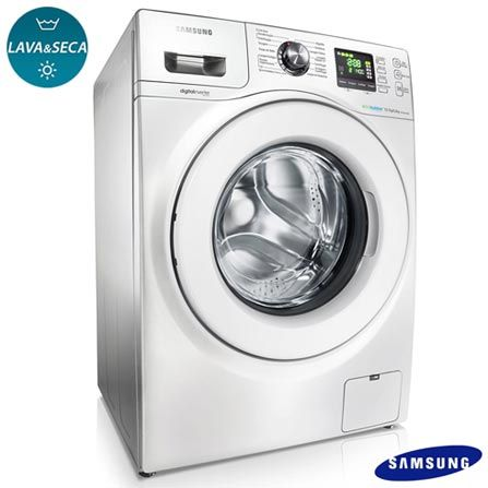 Washing Samsung 10 Kg H:850 mm W:600mm D:600mm
