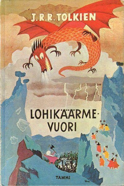 トーベ・ヤンソンが挿絵を描いたトールキンの『ホビット』 The Hobbit illustrated by Tove Jansson