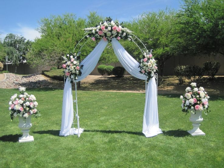 Beach Wedding Arch Ideas: 90 Best Wedding Decoration Images On Pinterest