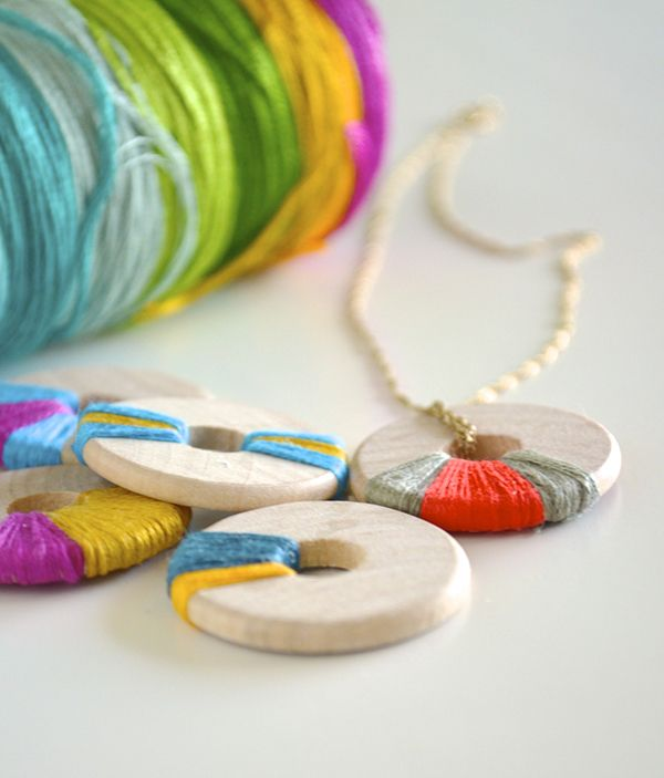 Weekend Craft - Wooden Jewelry