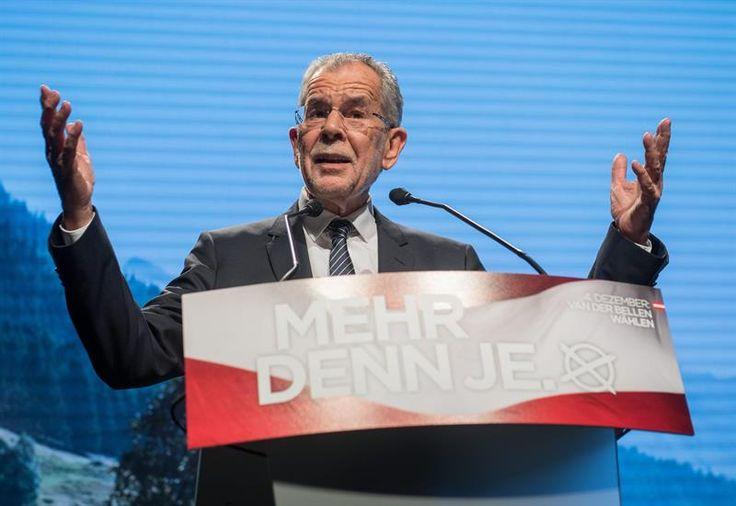 El ecologista Van der Bellen vence al ultra Norbert Hofer en las elecciones en Austria según los sondeos