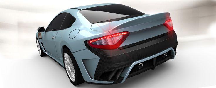 One-off luxury car based on Maserati Granturismo MC Stradale