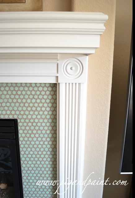 Pig and Paint: Fireplace