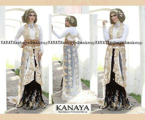 White & Gold  Simple - Beauty - Elegant - Glamour  Kebaya by KANAYA Kebaya Make Up by KANAYA Make Up  Jangan lupa MALANG, KANAYA ada di kota kamu 10-11Januari 2015 ya  #wedding #pengantin #pengantinjawa #kebaya #kebayamodern #kebayapengantin #kanayakebaya #sewakebaya #makeup #makeuppengantin #makeupwedding #mua #muasurabaya #muamalang #makeupartist #beforeafter #akad #akadnikah #resepsi #resepsipernikahan #hijab #instakebaya #instawedding #surabaya #malang #indonesia #designer…