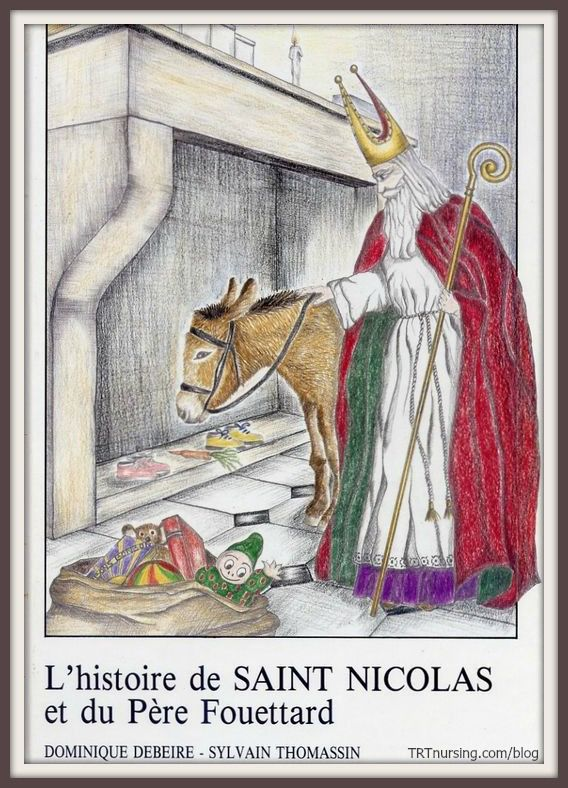 The Story of Saint Nicolas. The origins of Santa Claus. Read all about it with Hearts in the Wind.