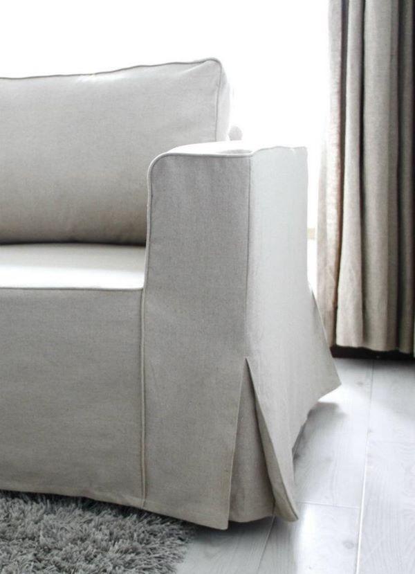 loose slipcover ikea sofa