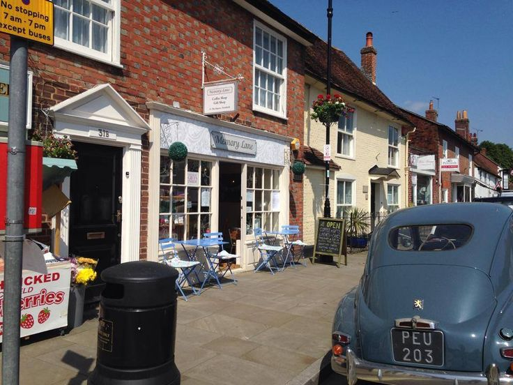 Memory Lane in Titchfield. Come and visit us.