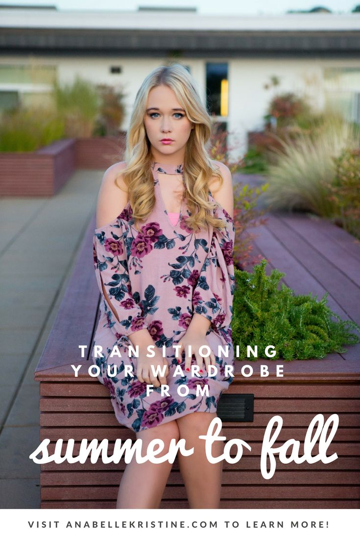 HOW TO: Transitioning Your Wardrobe from Summer to Fall