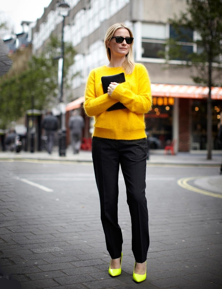 Straight off the high street from Cos to Mango and Whistles to M, see how ELLE's Executive Fashion Editor Stacey Duguid is wearing her high-street knits | ELLE UK