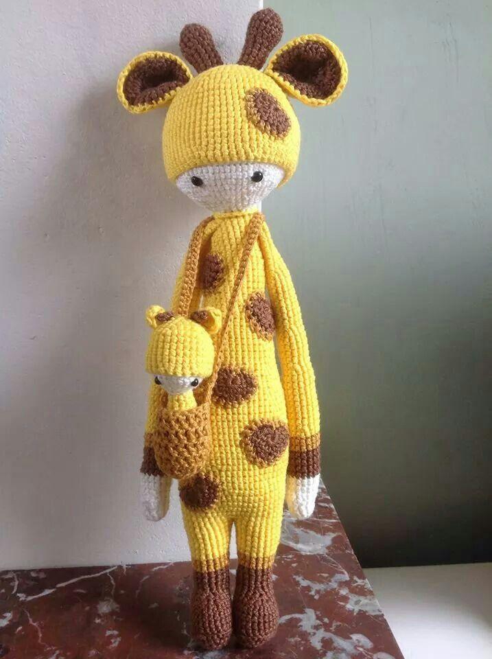 Amigurumi Giraffe Haken : Amigurumi Lalylala giraffe: Lalylala Poppen, Lalylala ...