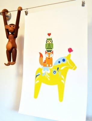 @Victoria Brown Olander @Brian Flanagan Wallin look!  dala horse, fox, and owl!