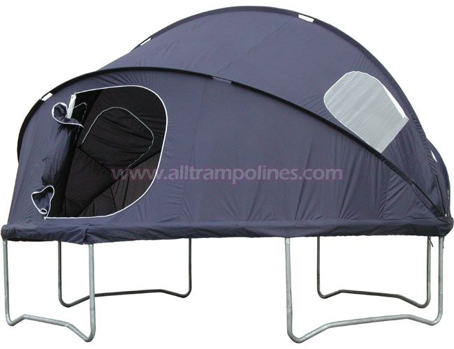 Trampoline Tent!! Best backyard camping ever!