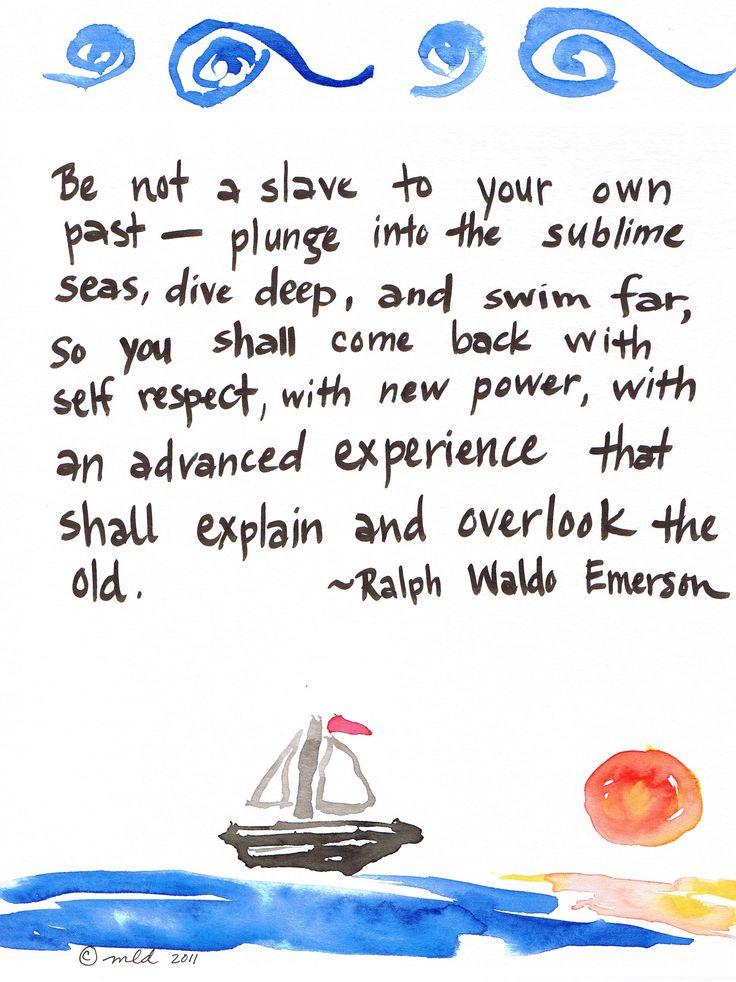 Experience by Ralph Waldo Emerson?