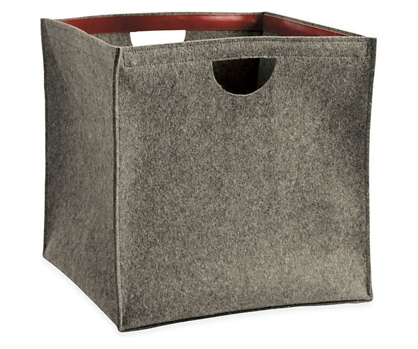 229 byrd u0026 belle felt storage bins decorative accessories room u0026 board